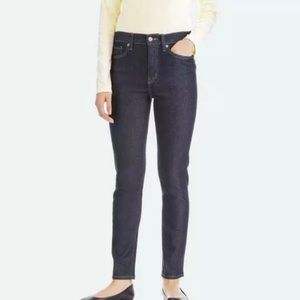 Uniqlo Women's Skinny Straight High Rise Jeans 8